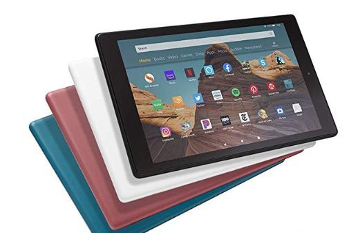 亚马逊发布新款 Fire HD 10平板电脑:四款配色可选-1