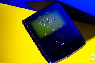 摩托罗拉RAZR手机正式发布:采用典翻盖式设计-3