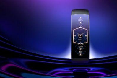 华米发布Amazfit X概念手表:2.07英寸柔性曲面屏-1