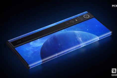 小米MIX Alpha 5G概念手机:环绕屏设计-1