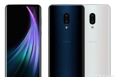 夏普发布AQUOS zero2手机:首款240Hz刷新率-1