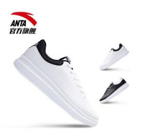 盘点2017年安踏、特步和李宁最受欢迎的小白鞋-1
