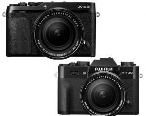 富士微单相机哪款好?富士X-T20和X-E3相机有哪些差别?-1