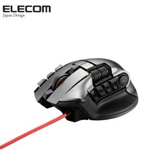 宜丽客(ELECOM) M-DUX70BK 21键电竞鼠标怎么样?-1