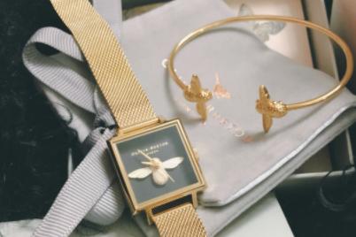 olivia burton手镯怎么样?可以和手表一起戴吗?-1