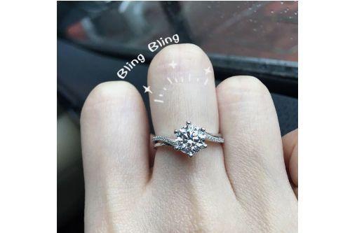 周大福钻石戒指价格多少?-1