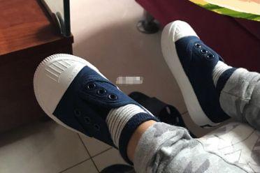 回力一脚蹬儿童鞋怎么样?好穿吗?-1