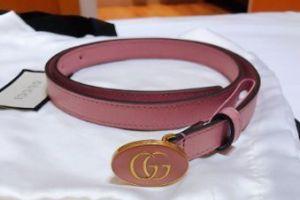 gucci粉色腰带如何?价格是多少?-1