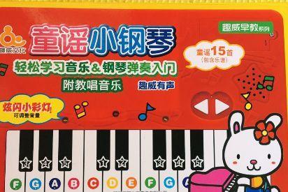趣威的童谣小钢琴怎么样?推荐买吗?-1