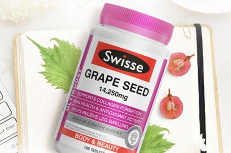 swisse葡萄籽一天几粒?有变白吗?-1