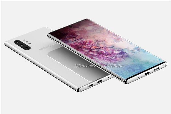 挖孔屏+骁龙855 三星Galaxy Note 10 Pro提前曝光-1