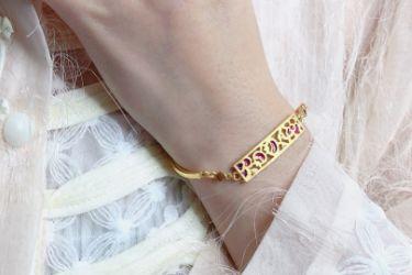 六福珠宝手链最新款?推荐一款适合妈妈的六福珠宝手链?-1