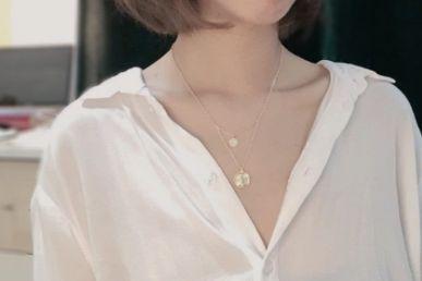 新加坡的jewel项链如何?jewel女士项链是银质的吗?-1