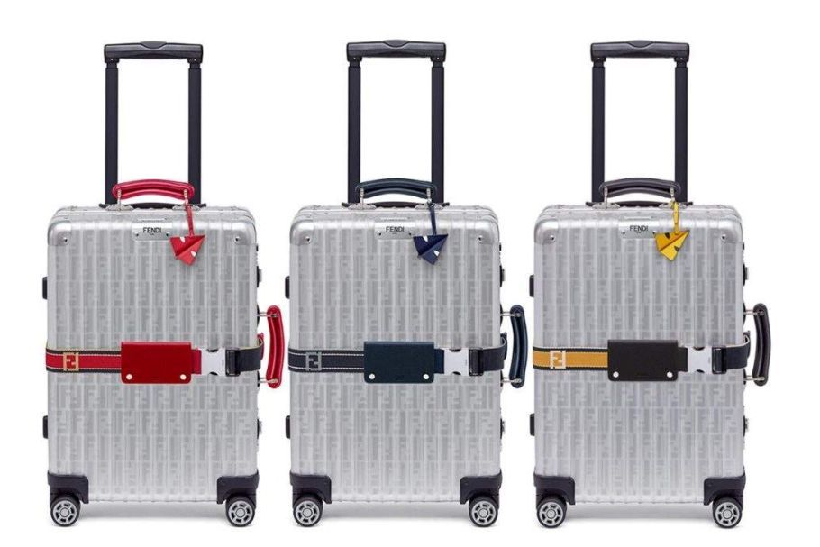 芬迪行李箱多少钱?芬迪联名款行李箱值得买吗?-1