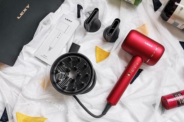 国潮新时尚,莱克F6高端涡扇吹风机,水离子护发更健康-3