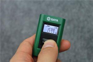 世达SATA迷你激光测距仪量VS钢卷尺,结果大大出乎意料-1