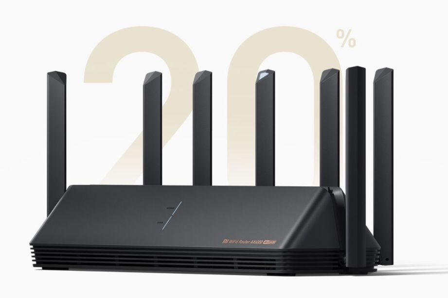 全新小米高端路由器Wi-Fi 6增强版,快,不是终点-1
