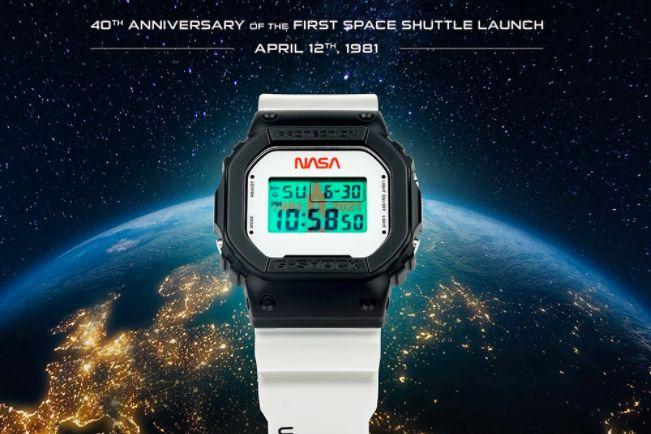 G-SHOCK与 NASA携手打造一款限量腕表G-SHOCK DW5600-1