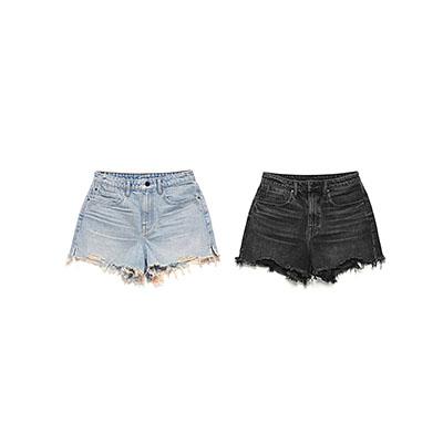 阔腿短裤女