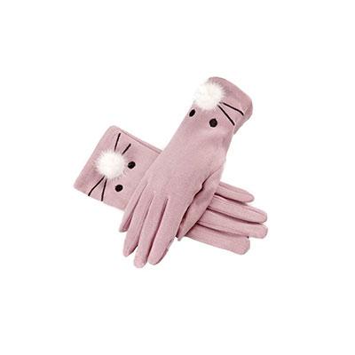 女士皮手套