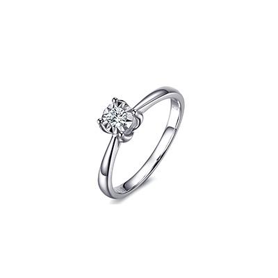 求婚钻石戒指