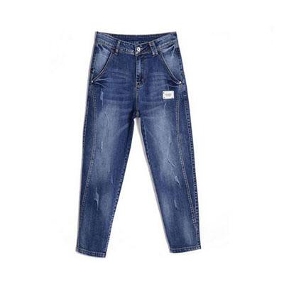 显瘦牛仔裤