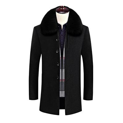 羊毛绒大衣