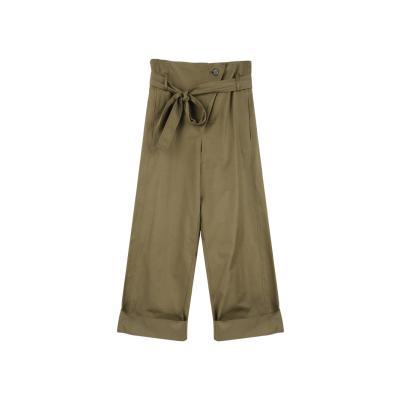 直筒阔腿裤